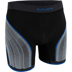 UYN Running Alpha OW Short Homme, charcoal/pearl grey/blue